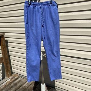 Jaanuu Ladies Ceil Blue EUC Size Medium Scrub Pant